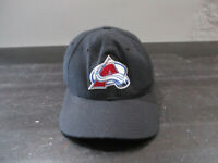 VINTAGE Colorado Avalache Hat Cap Mens 7 3/8 Fitted NHL Hockey New Era 90s