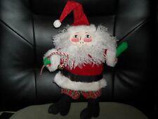 "House of Hatten Mary Engelbreit Santa Claus ornament Christmas decoration 10"" B"