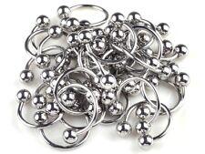 20pcs Wholesale 316L Stainless Steel Horseshoe Lip Labret Ear Rings Body Jewelry