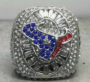 HOUSTON TEXANS AFC South NFL Football Ring Souvenir Collectible Size 11