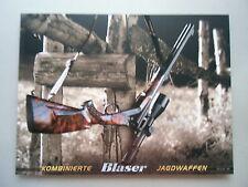 Kombinierte Blaser R8 Jagdwaffen Jagd Waffenrecht 08/2014 Waffen Waffenkunde