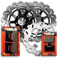 Suzuki F+R Brake Disc Rotor + Pads GSXR 600 & GSXR 750 [04-05] GSX-R 1000 [2004]