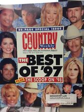 Country Weekly-1/6/98 Best Of 97 Alan Jackson Garth Shania Vince Tim McGraw