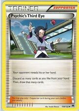 Psychic's Third Eye 108 *REVERSE HOLO FOIL*  NM  BREAKPoint Pokemon  Trainer