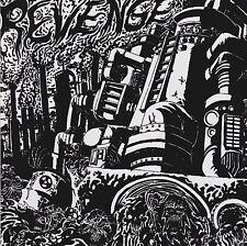 """MassGrave / Global Holocaust - Revenge split 7"""" EP Red Vinyl (2006) Grindcore"""