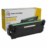 LD Compatible Replacement for HP 508X/CF362X HY Yellow Toner Cartridge