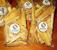 CHAKANA PALO SANTO WOOD   1 POUND BAG    4 INCH HOLY WOOD INCENSE STICKS