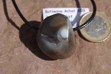 Botswana Augen Achat gebohrt X09 Botswana Agate Augenachat Anhänger ca.2,9cm