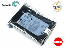 "SEAGATE 500GB SATA 3.5"" INTERNO PC DESKTOP HDD Hard Disk Drive MAC CCTV DVR PVR"