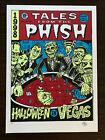 Phish 1998 Halloween Vegas Silkscreen Concert Poster SIGNED AP Ward Sutton RARE