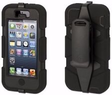 NEW GRIFFIN SURVIVOR IPHONE 5/5S/SE MILITARY DUTY CASE COVER BELT CLIP FREE P&P