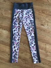 Justice Active Girl's Leggings Size 12 Pink Gray