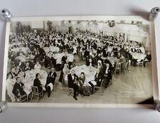 Large Vintage 1954 Adventures Club New York Ballroom Dinner Hotel Biltmore Photo