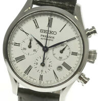 SEIKO Presage Chronograph SARK013 Automatic Leather Belt Men's Watch_489931