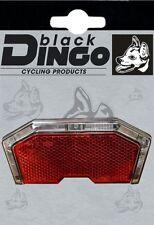 BDCP LED Fahrrad Dynamo Rücklicht für Gepäckträger Lichtleiste mit 3 LED's STVO