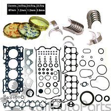 98-01 Honda Prelude 2.2L H22A4 DOHC 16V VTec Gasket Engine Rebuild RE-RING KIT