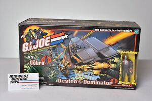 GI JOE VEHICLE 2002 DESTRO'S DOMINATOR - SEALED MISB - HASBRO
