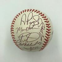 2003 St. Louis Cardinals Team Signed MLB Baseball Albert Pujols 30 Sigs JSA COA