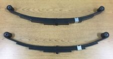 "Double Eye Trailer Leaf Spring - 4 Leaf - 25-1/4"" Length - 2400 Lb Cap. - 2 Pack"