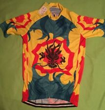 New With Tags Tour de France Brand Ladies Cycling Jersey Yellow Red