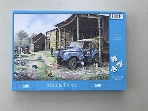 Mobile Home by Anthony Forster - House of Puzzles 500 Piece Jigsaw.