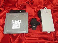 BMW E90 E60 E85 3 5 Z4'ies 2.3i N52 ENGINE ECU SET DME MSV70 CAS KEY READER LOCK