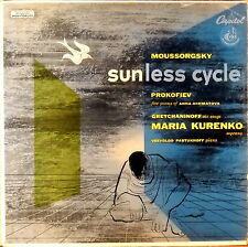 CAPITOL FDS Moussorgsky SUNLESS CYCLE Prokofiev KURENKO PASTUKHOFF P-8310
