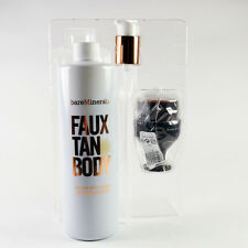 bareMinerals Faux Tan Body Sunless Body Tanner 16 Oz. + Pump & Deluxe Tan Brush