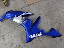 04 05 06 Yamaha R1 Yzfr1 Yzf Left Side Fairing Panel Body Bodywork Blue Oem