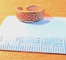 Toe Ring ~ Silvertone ~ Estate Item