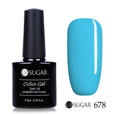 7.5ml Nail Art Soak Off UV Gel Polish Blue Black Series LED Gel Color UR SUGAR