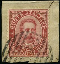 Italy 1879 stamps definitive USED Sas 38 CV < $5.00 180420085