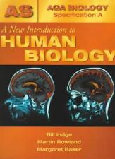 A New Introduction To Human Biology (AQA A) (AQA Biology Specification A),Bill