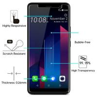 New Genuine Thin Clear Tempered Glass Screen Guard Protector For HTC U11 Plus