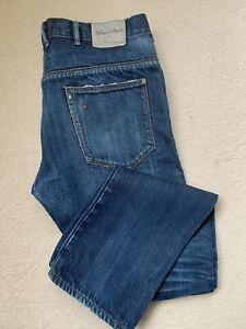 Mens Paul Smith Jeans W32 L32 Blue, Japanese Selvedge Denim