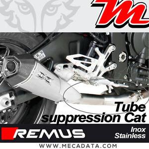 décat tube élimination cat no kat catalyseur Remus Yamaha MT-10  2019