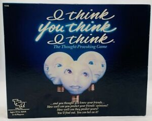 1984 I Think You Think I Think by TSR New Old Stock FREE SHIPPING