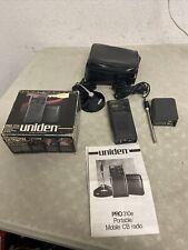 Vintage Uniden Pro 310e Mobile Portable Cb Radio w/ Accessories & Case Euc