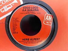 HERB ALPERT Coco loco / fandango 2441S