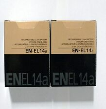 nikon en-el14a battery- genuine x2 quantity