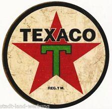 Texaco autocollant/sticker/old school/rétro/hot rod/rockabilly/us car/v8/tatouage
