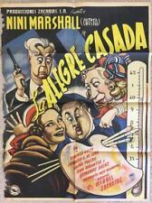 LA ALEGRE CASADA 1951 Art by Cabral Org Mexican Movie Poster 265