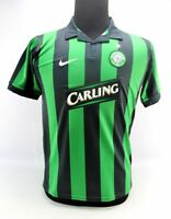 Nike SphereDry Celtic Football Club Black Green Polo Soccer Shirt Boys XL 01d37c368