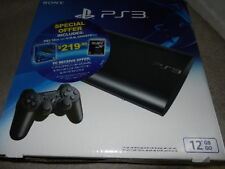 Sony PlayStation 3 12gb Video Game System - Charcoal Black (cech-4301a)