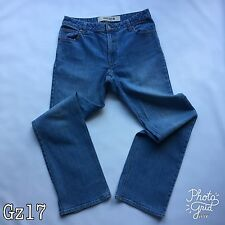 Womens GAP Woman Blue Stretch Jeans Boot Cut Style Size 8R W30-31 L31