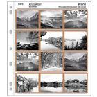 30x 120 Ring Binder Archival File Storage Bag Page B/W Color Film Negative Slide