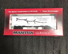 MANTUA CLASSICS/MRC 41' STEEL REFRIGERATOR CAR LEHIGH VALLEY MAP CAR HO SCALE