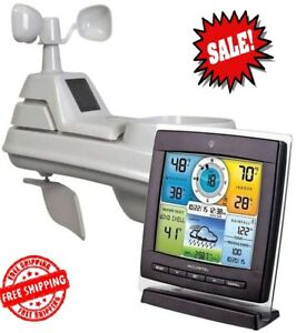 AcuRite 01528 Wireless Weather Station with 5-in-1 Sensor Temperature and Humidi