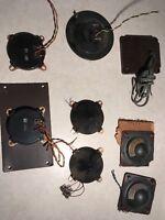 Lot of 8 ELECTRO STATIC TWEETERS LSH75K Loewe Opta ktistall mf5108