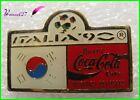 Pin's pins Badge Coca Cola Football Italia 90 Drapeau Pays la Corée du Sud #H3